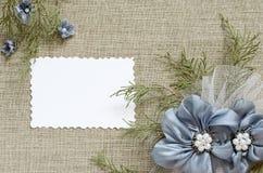 Tło z kwiatu przygotowania Zdjęcie Stock