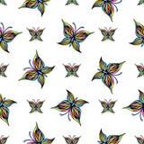 Tło z motylem Fotografia Stock