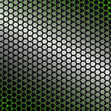 Tło z zielonym backlight Obraz Stock
