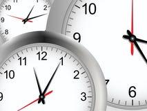 tło zegar Fotografia Stock