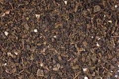 tło zielona herbata Fotografia Royalty Free