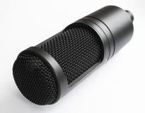 tła odosobnionego mikrofonu pracowniany biel Obraz Stock