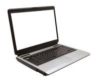 tła odosobniony laptopu biel Zdjęcia Royalty Free