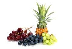 tła owoc mieszanki biel Obraz Stock