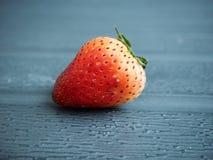 tła owoc odosobniony truskawkowy biel Obraz Royalty Free