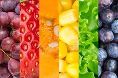 tła owoc warzywa Fotografia Royalty Free