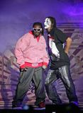 T-Pain performs in concert royalty free stock photos