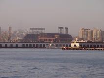 AT&T parcheggia - domestico del Giants visto dalla baia Immagine Stock