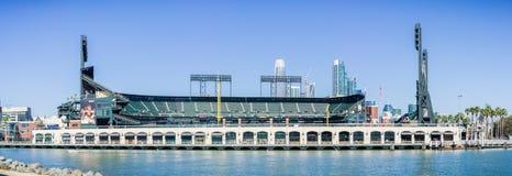 AT&T parcheggia l'arena di baseball fotografia stock libera da diritti