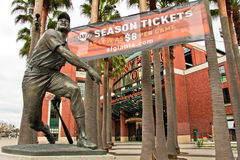 AT&T Park Home of the Giants in San Francisco Royalty Free Stock Photos