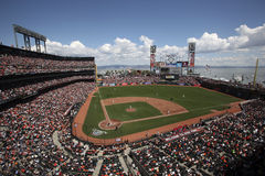 AT&T Park, Home of the San Francisco Giants Stock Image