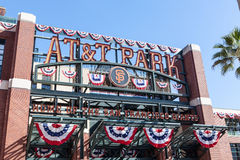 AT&T Park in San Francisco, California Stock Photography