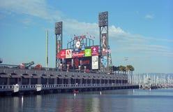 AT&T Park - San Fransisco Giganty Fotografia Royalty Free