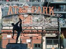 AT&T parken, San Francisco Lizenzfreie Stockfotos