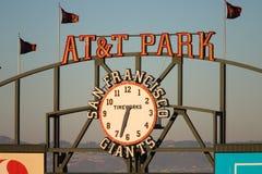 AT&T parkerar logo Royaltyfria Foton