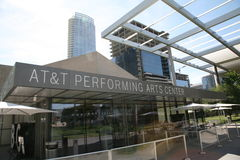 AT&T Performing Arts Center. The AT&T Performing Arts Center-Winspear Opera House in downtown Dallas, Texas Royalty Free Stock Photos