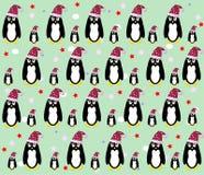 tła pingwinu wektor Fotografia Royalty Free