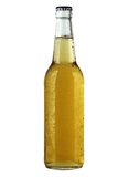 tła piwnej butelki biel Fotografia Royalty Free