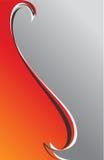 tła popielaty czerwony vertical Obraz Royalty Free