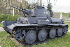 38-t-Praag lichte tank (Tsjecho-Slowakije), 1937 Gewicht, t 9.9 Stock Foto