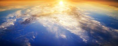 tła projekta elementu odbicia nieba woda Fotografia Royalty Free