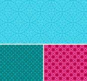 11 t?a projekta pr?bki bezszwowy set ty Kolorowa deseniowa wektorowa ilustracja zdjęcie royalty free