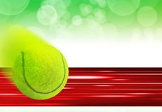 tła projekta tenis Zdjęcie Royalty Free