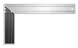 T-quadrato Fotografia Stock