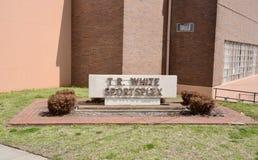 T r Biały Spors Powikłany podwórze, Jackson, Tennessee Obraz Royalty Free