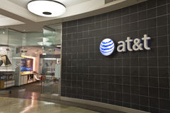 AT&T Retail Mall Location IX Stock Photo