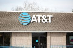AT&T Retail Store. AT&T Inc. is an American Telecommunications Corporation IX. Philadelphia, Pennsylvania, March 3, 2018:AT&T Retail Store. AT&T Inc. is Stock Photos