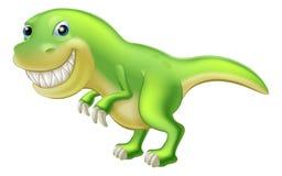 T Rex动画片恐龙 向量例证