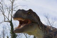 T-Rex的嘴 图库摄影