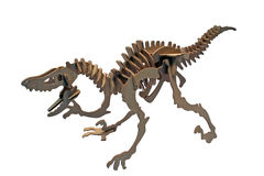 T-rex. Photo of t-rex toy on white background Royalty Free Stock Photos