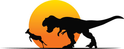 T-Rex royalty-vrije illustratie