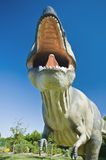 T-Rex with big Mouth Stock Images