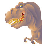 T rex bust Royalty Free Stock Images