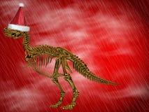 T-Rex con la protezione della Santa Fotografia Stock Libera da Diritti