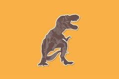 T-rex Dinosaur ,Ancient animals.  Royalty Free Stock Photo
