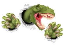 T Rex Dinosaur Claws Tearing Stock Fotografie