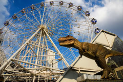 T Rex at Dinosaur planet, Bangkok Stock Photos