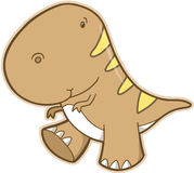 T-Rex Dinosaur Vector Royalty Free Stock Photo