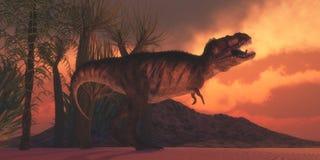T-Rex dzierżymorda Obrazy Royalty Free