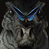 T.Rex en B.Fly - 01 Royalty-vrije Illustratie