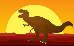 T-rex graphic. Royalty Free Stock Images