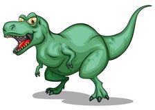 T-Rex with sharp teeth Stock Photos