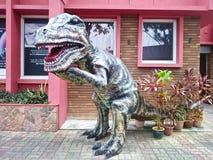 T-rexart von dinosour Replik lizenzfreies stockfoto