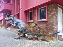 T-rexart von dinosour Replik lizenzfreie stockbilder