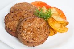 T?rkisches Lebensmittel Kofte oder Kofta W?rziger Fleischkl?schen Kebab oder Kebap stockfotografie