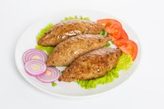 T?rkisches Lebensmittel Kofte oder Kofta W?rziger Fleischkl?schen Kebab oder Kebap stockfotos